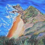 Cape Reinga - acrylics on canvas 12x16 inches $200