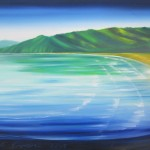 Golden Bay - 30x40 inches - oils on canvas $750