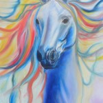 Horse from heaven - 18x24 inches oils on canvas $432