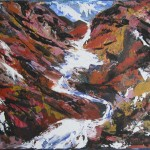 Mount Ruapehu - Rocky Mountain Way - collection of the artist