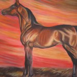 Arab Yearling Sharjah - Collection of the artist
