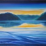 Picton Harbour - 18x24 oils on canvas $440