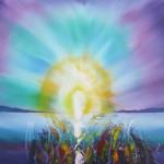 Shining Light - 22x28 inches - oils on canvas - Sold