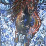 Storm - 18 x 36 inches - acrylics on canvas $650