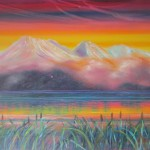 Taupo - 30x40 inches Oils on canvas $750