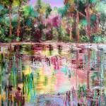 Waikato Magic 1 - Acrylics on canvas 30x40 inches $750